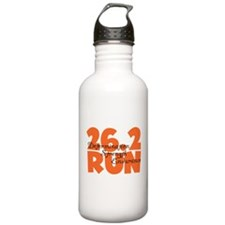 26.2 Run Orange Water Bottle