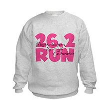 26.2 Run Pink Sweatshirt
