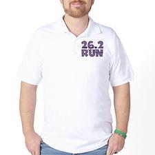 26.2 Run Purple T-Shirt