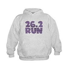 26.2 Run Purple Hoodie
