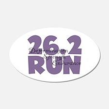 26.2 Run Purple Wall Sticker