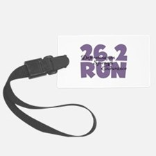 26.2 Run Purple Luggage Tag