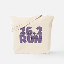 26.2 Run Purple Tote Bag