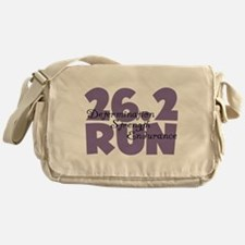 26.2 Run Purple Messenger Bag
