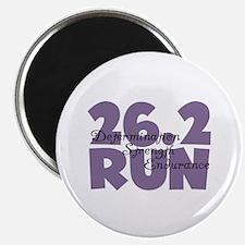 "26.2 Run Purple 2.25"" Magnet (10 pack)"