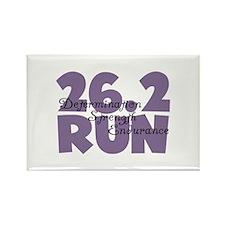 26.2 Run Purple Rectangle Magnet