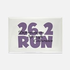 26.2 Run Purple Rectangle Magnet