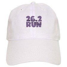 26.2 Run Purple Baseball Cap