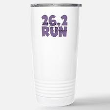 26.2 Run Purple Travel Mug