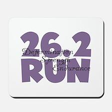 26.2 Run Purple Mousepad