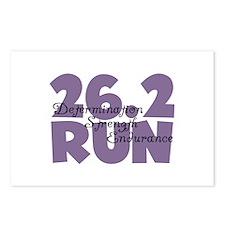 26.2 Run Purple Postcards (Package of 8)
