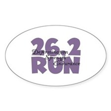 26.2 Run Purple Decal