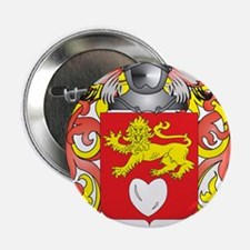 """Harte Coat of Arms (Family Crest) 2.25"""" Button"""