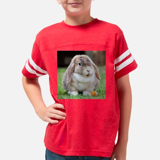Cute Easter Youth Football Shirt