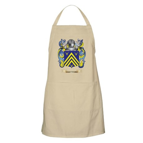 Hartford Coat of Arms (Family Crest) Apron