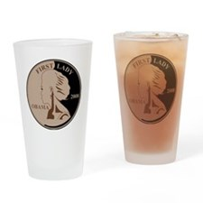 First Lady Coin,  Drinking Glass