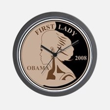 First Lady Coin,  Wall Clock