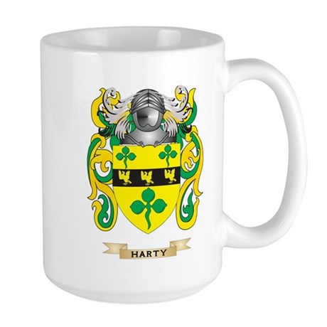 Harty Coat of Arms (Family Crest) Mug