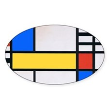 MONDRIAN 1 Decal