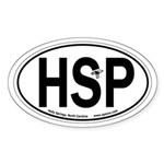 Holly Springs, North Carolina Oval Car Sticker