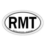Rocky Mount, NC Oval Sticker