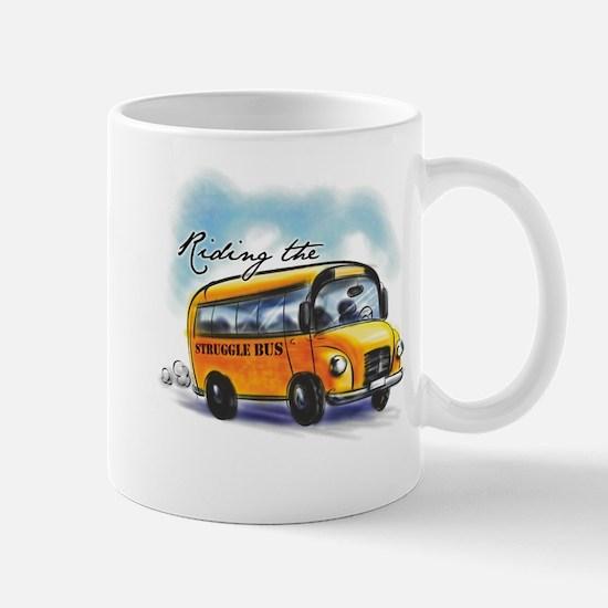 Riding the Struggle Bus Mug