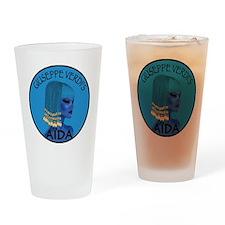Blue Aida Drinking Glass