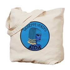 Blue Aida Tote Bag
