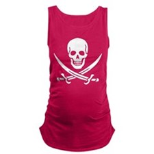 Skull_Calico_Jack.png Maternity Tank Top