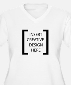 [INSERT CREATIVE DESIGN HERE] Plus Size T-Shirt