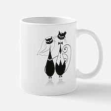 Wedding Cats Small Mugs