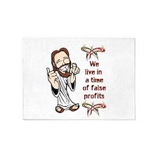False Profits 5'x7'Area Rug