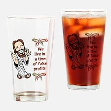 False Profits Drinking Glass