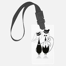 Wedding Cats Luggage Tag