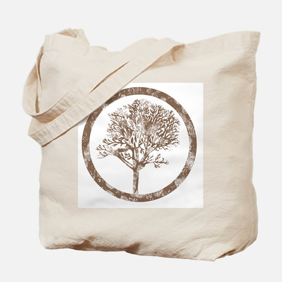 Full Circle Vintage Tote Bag