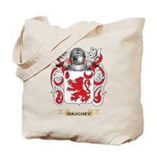 Haughey Coat of Arms (Family Crest) Tote Bag
