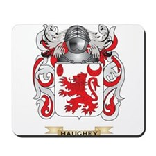 Haughey Coat of Arms (Family Crest) Mousepad