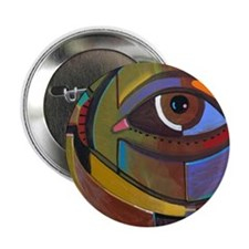 "Abstract Self Portrait 2.25"" Button"