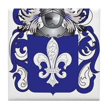 Hauser Coat of Arms (Family Crest) Tile Coaster