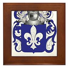 Hauser Coat of Arms (Family Crest) Framed Tile
