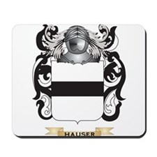 Hauser-2 Coat of Arms (Family Crest) Mousepad