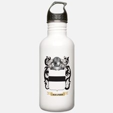 Hauser-2 Coat of Arms (Family Crest) Water Bottle