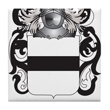 Hauser-2 Coat of Arms (Family Crest) Tile Coaster
