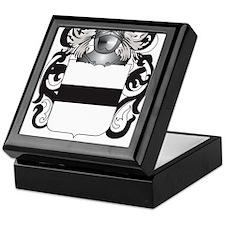 Hauser-2 Coat of Arms (Family Crest) Keepsake Box