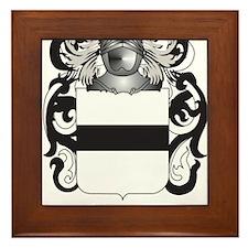 Hauser-2 Coat of Arms (Family Crest) Framed Tile