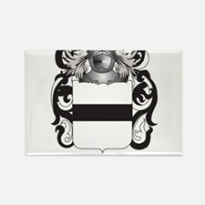 Hauser-2 Coat of Arms (Family Crest) Rectangle Mag