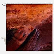 Ancient Herdsman Shower Curtain