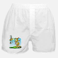 Tiger & Bee Boxer Shorts