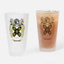 Hawkings Coat of Arms (Family Crest) Drinking Glas