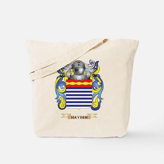 Hayden Coat of Arms (Family Crest) Tote Bag